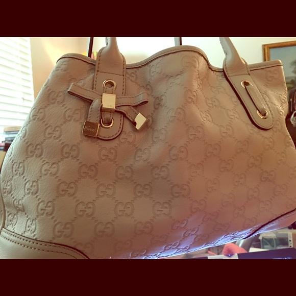 6767850e1050 Gucci Handbags - Gucci butter leather Guccissima purse